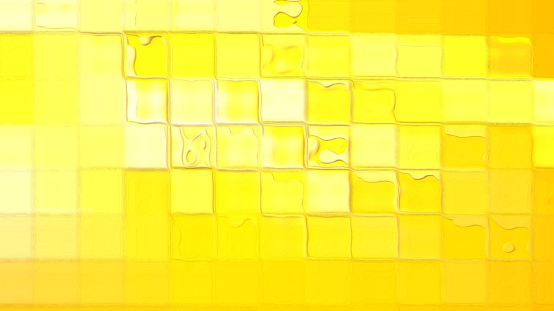 Abstract Bright Yellow Background Design