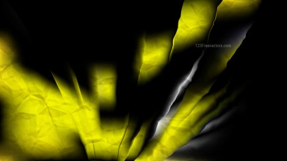 Cool Yellow Abstract Background Design