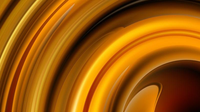 Abstract Dark Orange Graphic Background Design