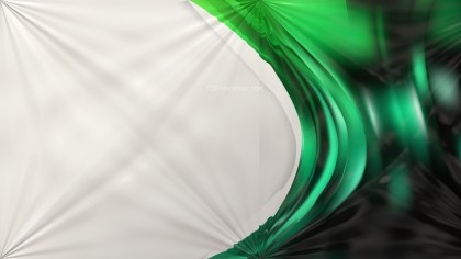 Shiny Green and Black Abstract Background