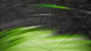 Shiny Green and Black Abstract Background Design