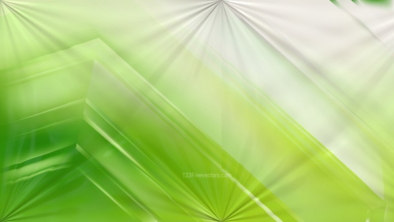 Shiny Green and White Abstract Background