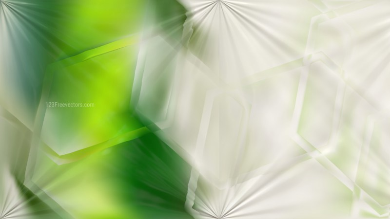 Green and White Shiny Background