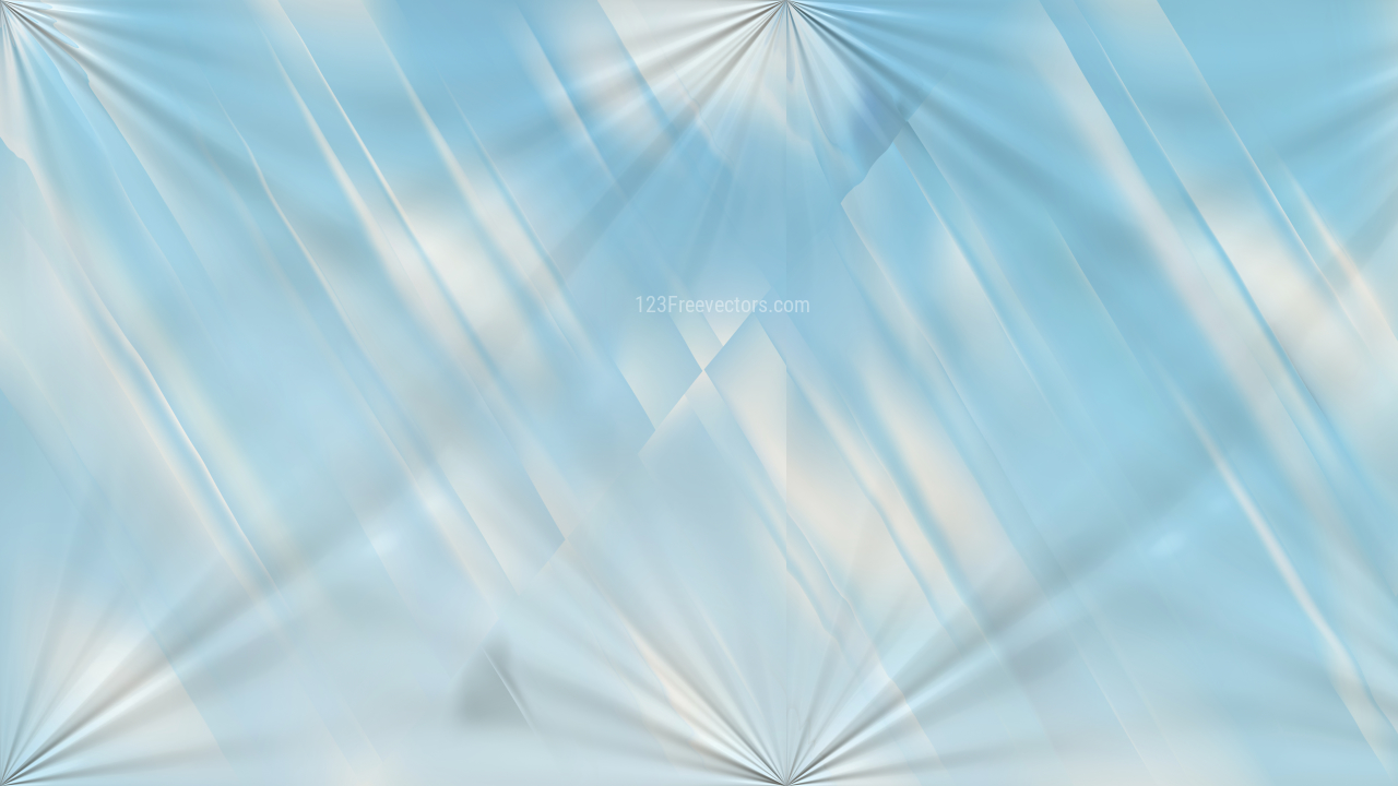 Light Blue Abstract Shiny Background