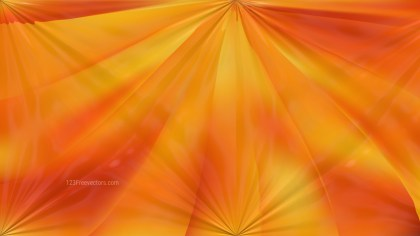 Orange Abstract Shiny Background Design