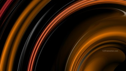 Orange and Black Background