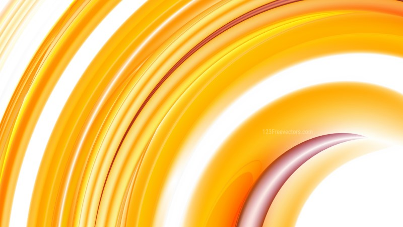 Orange and White Background Design