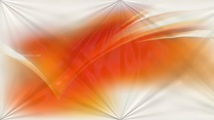 Shiny Orange and White Abstract Background