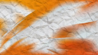Orange and White Abstract Background Design