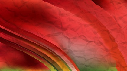 Abstract Red and Green Background Design