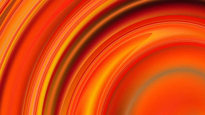 Abstract Red and Orange Background Design