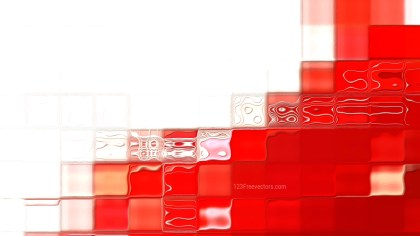 Red and White Background Design