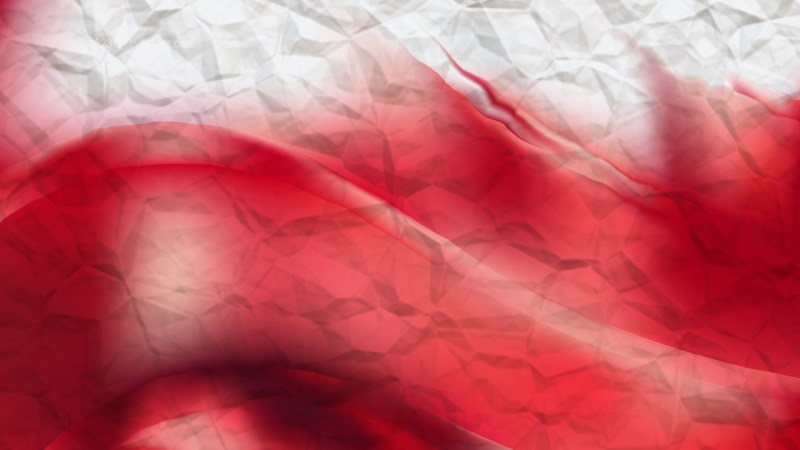 Abstract Red and White Background Image