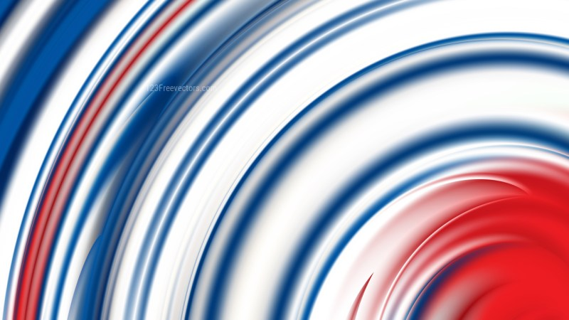 Abstract Red White and Blue Background