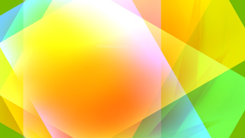 Abstract Red Yellow and Green Background Design