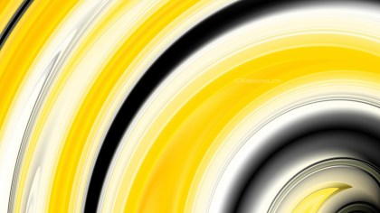 Abstract Yellow Black and White Graphic Background Design