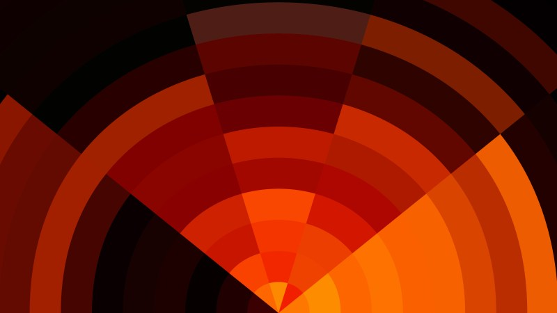 Black Red and Orange Abstract Background