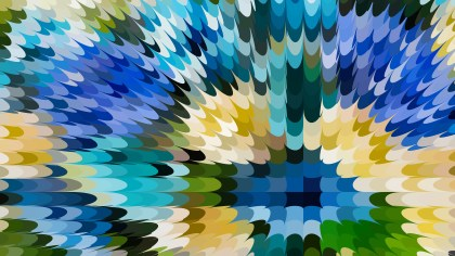 Blue and Green Abstract Texture Background Vector Graphic