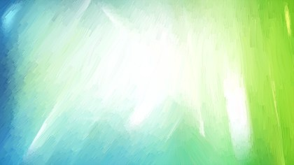 Abstract Blue Green and White Texture Background Image