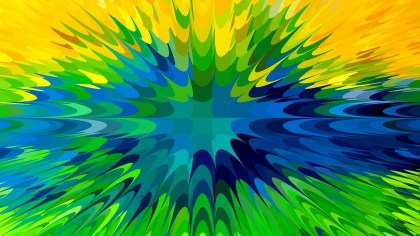 Blue Green and Yellow Texture Background