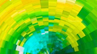 Abstract Blue Green and Yellow Graphic Background Vector Image