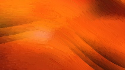 Bright Orange Abstract Texture Background