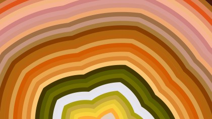 Abstract Brown and Green Graphic Background Vector Illustration