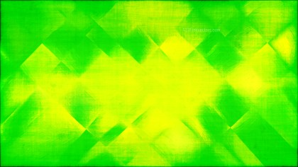 Abstract Green and Yellow Texture Background