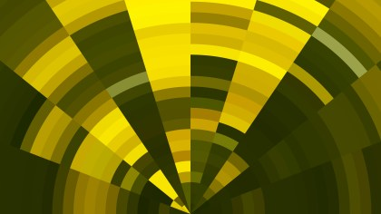Abstract Green and Yellow Background Vector Art