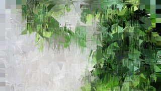 Abstract Green Black and White Texture Background