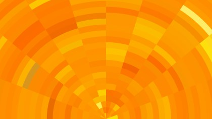 Abstract Orange Background Vector Illustration