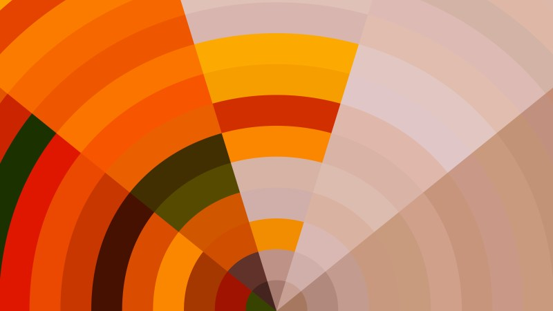 Abstract Orange Graphic Background