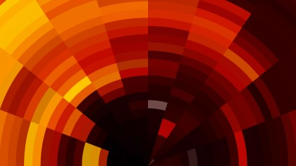 Abstract Orange and Black Background Illustration
