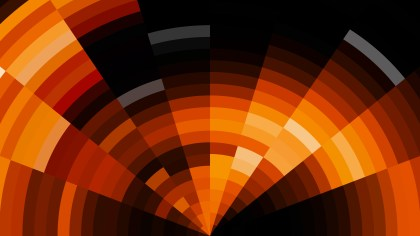 Orange and Black Abstract Background