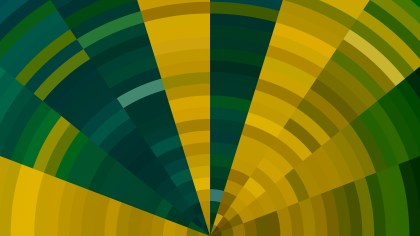 Orange and Green Abstract Background Graphic
