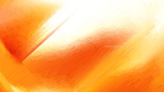 Abstract Orange and White Texture Background
