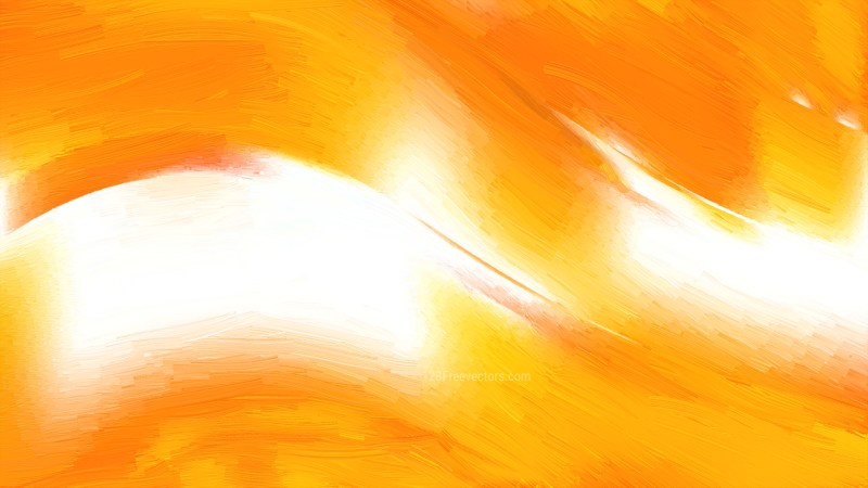 Orange and White Abstract Texture Background Design