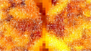 Abstract Orange and Yellow Texture Background