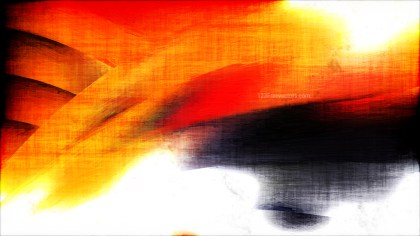 Abstract Orange Black and White Texture Background Image