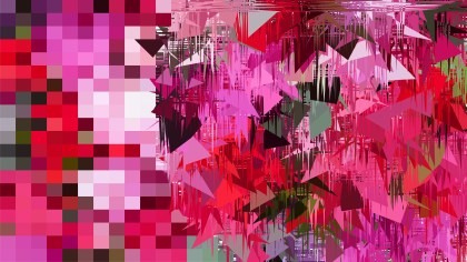 Pink and Black Abstract Texture Background Graphic