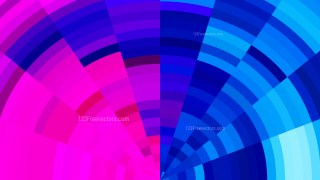 Pink and Blue Background Vector Graphic