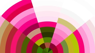 Pink Green and White Abstract Background Graphic