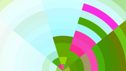 Abstract Pink Green and White Graphic Background Vector Art