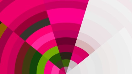 Abstract Pink Green and White Graphic Background Image