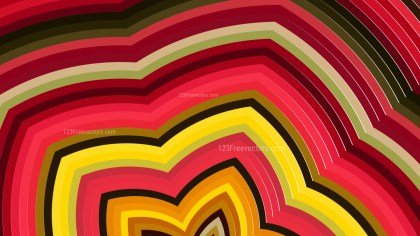 Pink Red and Yellow Abstract Background