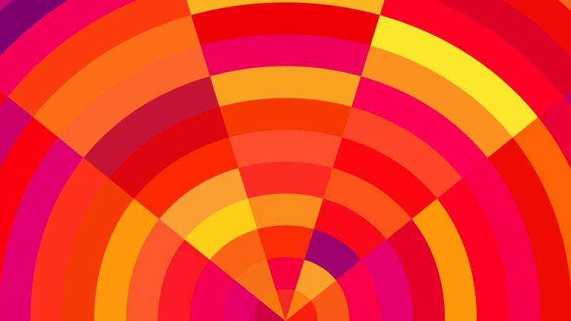 Abstract Pink Red and Yellow Graphic Background