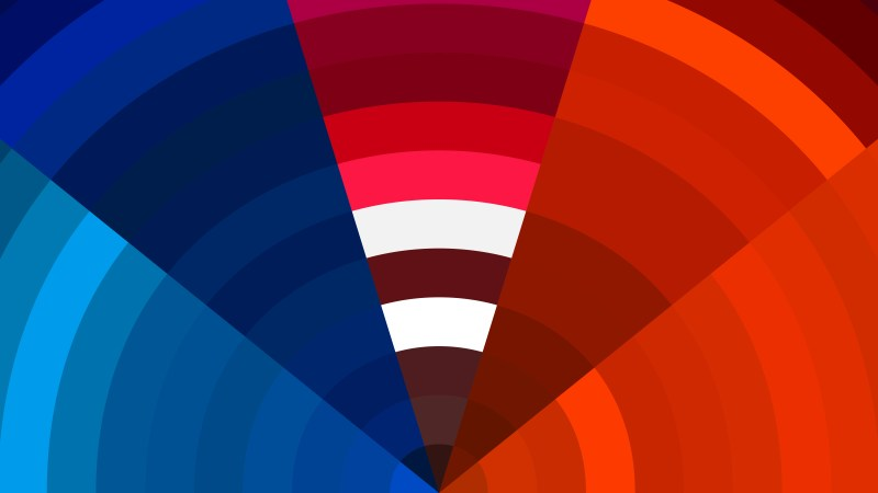 Red and Blue Abstract Background Vector