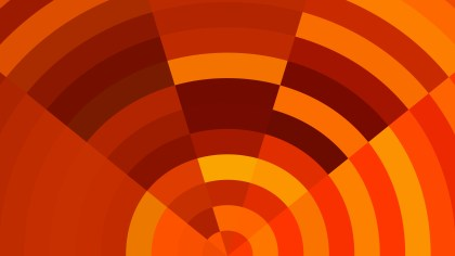 Abstract Red and Orange Background Illustration