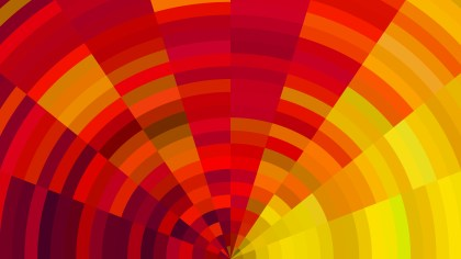 Red and Yellow Abstract Background Vector Graphic
