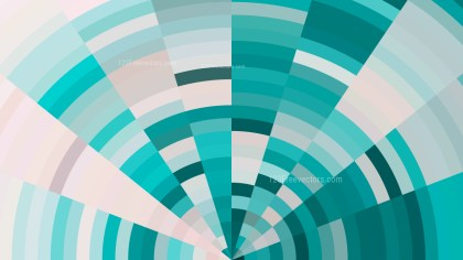 Abstract Turquoise and White Graphic Background Vector Image